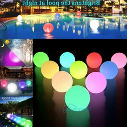 14 outdoor solar floating ball pond pool