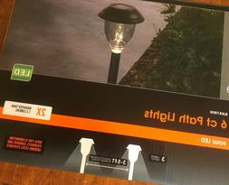 48 Outdoor Solar LED Path Lights,8boxes, 8Hrs Operating Time