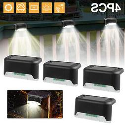 4 Solar LED Bright Deck Lights Outdoor Garden Patio Railing
