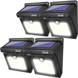 BAXIA TECHNOLOGY BX-SL-101 Solar Lights Outdoor 28 LED Wirel