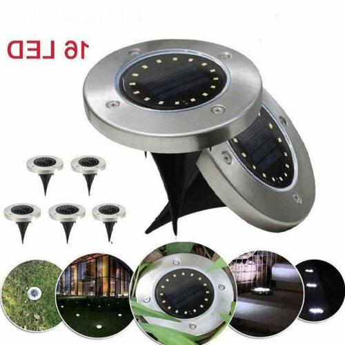 16LED Power Light Outdoor Path Way Decking