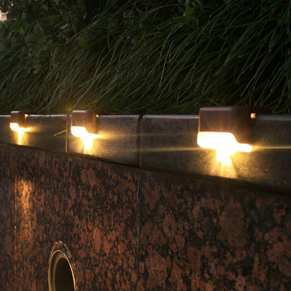 4-16Pcs Solar LED Deck Patio Lighting