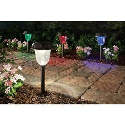 Hampton Bay Solar Powered LED Color Changing Pathway Lights